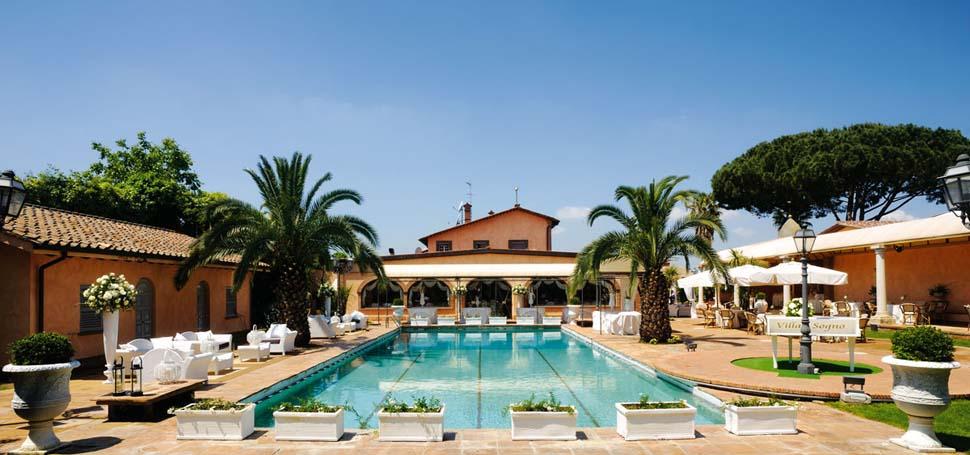 Villa il sogno a roma splendida location con ristorante per matrimoni ai castelli romani - Villa con piscina roma ...