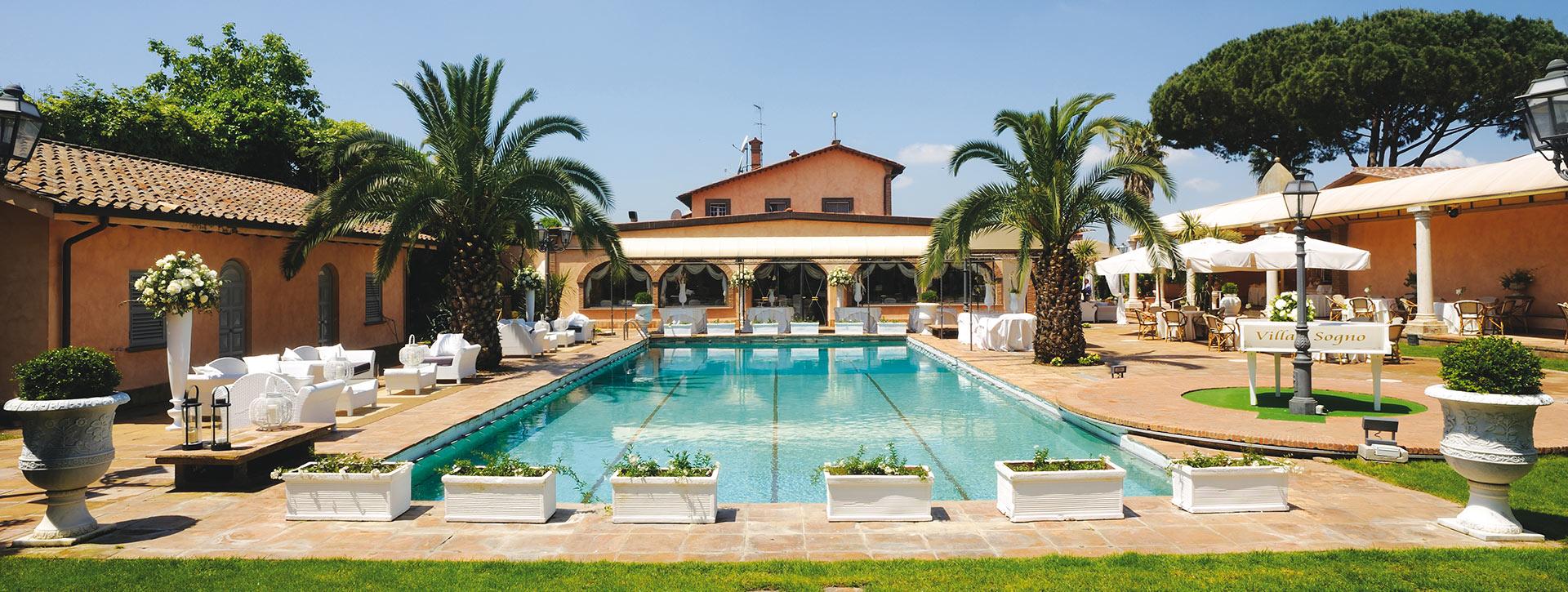 Splendida location con ristorante per matrimoni ai - Piscina castelli romani ...